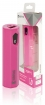 KNPB2500PI Draagbare Powerbank Lithium-Ion 2500 mAh USB Roze
