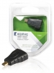 KNV34907E High Speed HDMI met Ethernet Adapter HDMI Micro-Connector Male - HDMI Female Antraciet