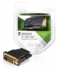 KNV34912E High Speed HDMI Adapter HDMI Female - DVI-D 24+1-Pins Male Antraciet