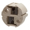 FT29104841 Laagspanningsfitting 12V wit porselein voor insteekfitting G4, GZ4, G5.3, GX5.3, G6.35, GY6.35