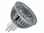 LAMPL1MR16NW 1W LEDLAMP - NEUTRAALWIT (3900-4500K) - 12VAC/DC - MR16