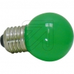 EC540225 LED-lamp kogel groen 1W / E27