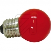EC540210 LED-lamp kogel rood 1W / E27