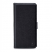 MOB-24652 Smartphone Classic Gelly Wallet Book Case Samsung Galaxy A7 2018 Zwart
