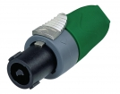 NTR-NL4FX-5 Cable socket, Speakon Groen 4P