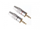 PAC809T SET 3.5MM STEREOPLUGGEN / PROFESSIONEEL