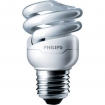 BK25364 Philips Tornado spiral 8W warm wit E27