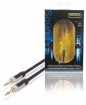 PROA3301 Stereo Audiokabel 3.5 mm Male - 3.5 mm Male 1.00 m Antraciet