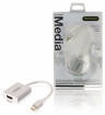 PROM211 Mini DisplayPort Kabel Mini-DisplayPort Male - HDMI Male 0.20 m Wit