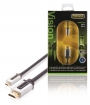 PROV1702 High Speed HDMI kabel met Ethernet HDMI-Connector - HDMI Micro-Connector Male 2.00 m Zwart