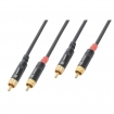 TS177092 Connex Kabel 2xRCA Male - 2x RCA Male 3m