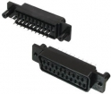 SCART16 Female scart chassis