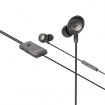 SWANCHS100GY Headset ANC (Active Noise Cancelling) In-Ear 3.5 mm Bedraad Ingebouwde Microfoon 1.2 m Antraciet/Zwart