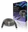 SWOP15012E100 XLR Digitale Kabel XLR 3-Pins Male - XLR 3-Pins Female 10.0 m Donkergrijs