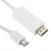 SYMAC0228 Mini-DisplayPort Male naar HDMI 1.50 m Wit