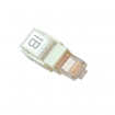 ISTD108T RJ45 Toolless modulaire connector voor ronde netwerkabel