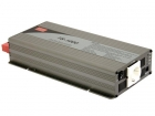TS-1000-212B MEAN WELL - DC-AC INVERTER MET ZUIVERE SINUSGOLF  - 1000 W - DUITS STOPCONTACT