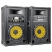 "TS170155 SPA1000Y PA Actieve Speakerset 10"" SD/USB/MP3"