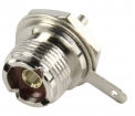 UHF-201 Connector UHF Female Metaal Zilver