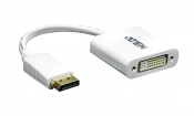 VC965-AT DisplayPort Kabel DisplayPort Male - DVI-D 24+1-Pins Male 0.15 m Wit