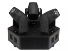 VDPL310MB TRIMO 310 - MOVING HEAD MET 3 KOPPEN - 3 x 10 W WITTE LED