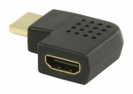VGVP34903B High Speed HDMI met Ethernet Adapter Links Gehoekt HDMI-Connector - HDMI Female Zwart