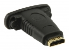 VGVP34911B High Speed HDMI met Ethernet Adapter HDMI Female - DVI-D 24+1-Pins Female Zwart