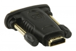 VGVP34912B High Speed HDMI met Ethernet Adapter DVI-D 24+1-Pins Male - HDMI Female Zwart