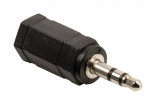 VLAB22930B Stereo Audio Adapter 3.5 mm Male - 2.5 mm Female Zwart