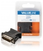 VLCB32900B DVI-Adapter DVI-I 24+5-Pins Male - VGA Female 15-Pins Zwart