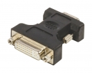 VLCP32901B VGA-Adapter VGA Male - DVI-I 24+5-Pins Female Zwart