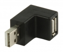VLCP60940B USB 2.0-Adapter 270° Gehoekt USB A Male - USB A Female Zwart