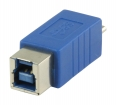 VLCP61903L USB 3.0-Adapter Micro-B Male - B Female Blauw