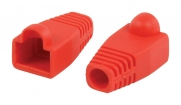 VLCP89900R Computer Strain Relief RJ45 Rood