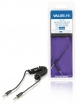 VLMB22010B10 Stereo Audiokabel 3.5 mm Male - 3.5 mm Male 1.00 m Zwart