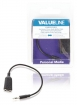 VLMB22100B02 Stereo Audiokabel 3.5 mm Male - 2x 3.5 mm Male 0.20 m Zwart