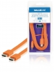 VLMB34010O20 High Speed HDMI kabel met Ethernet Plat HDMI-Connector - HDMI-Connector 2.00 m Oranje
