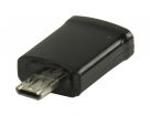 VLMP39020B MHL-Adapter USB Micro-B 11-Pins Male - USB Micro-B Female Zwart