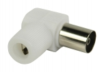 VLSP40924W Coaxconnector Female PVC Wit