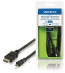 VLVB34700B20 High Speed HDMI kabel met Ethernet HDMI-Connector - HDMI Micro-Connector Male 2.00 m Zwart
