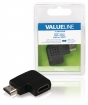 VLVB34903B High Speed HDMI met Ethernet Adapter Links Gehoekt HDMI-Connector - HDMI Female Zwart