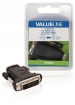 VLVB34912B High Speed HDMI met Ethernet Adapter DVI-D 24+1-Pins Male - HDMI Female Zwart