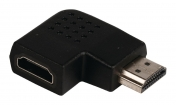 VLVP34903B High Speed HDMI met Ethernet Adapter Links Gehoekt HDMI-Connector - HDMI Female Zwart