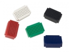 VTBB6 SET MINI BREADBOARDS - 55 INSTEEKPUNTEN - 5 st.