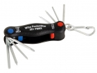 WH27936 Wiha Multitool Mini PocketStar sleufkop, Phillips, binnenzeskant 8-delig in blister (27936)