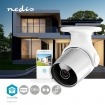 WIFICO11CWT SmartLife Camera voor Buiten | Wi-Fi | Full HD 1080p | IP65 | Cloud / MicroSD | 12 VDC | Nachtzicht | Android™ & iOS | Wit/Zilver
