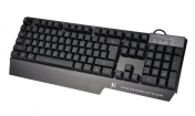 X2K4002USB Bedraad Keyboard Gaming USB 2.0 US International Zwart
