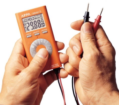 Digitale multimeter 4000 Cijfers 600 VAC 600 VDC 0.004 ADC