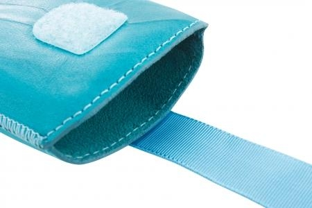 Mobiparts Uni Pouch SMOKE Size XS Turquoise