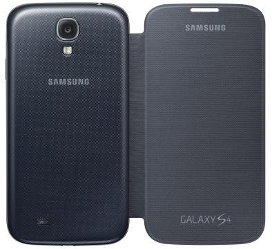 Samsung Galaxy S4 Flip Cover Black